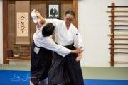 Hans Goto Shihan performs tenchinage
