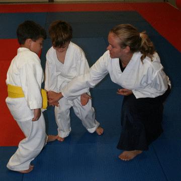 Laura Sensei and Kids