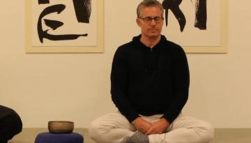 Miles Kessler in Seated Meditation