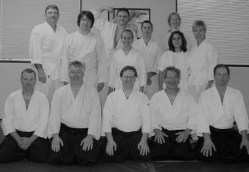 aikido seminar hosted by Barry Tuchfeld Sensei in 2006