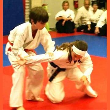 youth aikido ikkyo