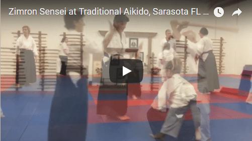 Zimron Sensei at Traditional Aikido Sarasota FL 1-2-17
